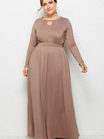 All Time Flared Long Dress