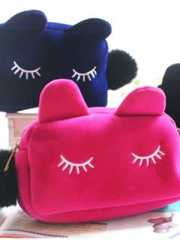 Animal Make Up Pouch