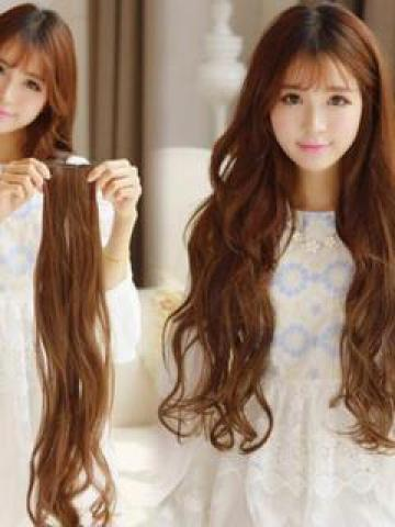 Clip-On Hair Extension - Wavy