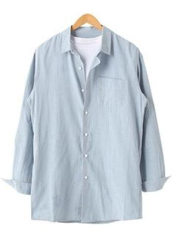 Colored Loose-Fit Shirt