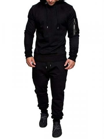 Ericdress Casual Mens Hoodie Outfit