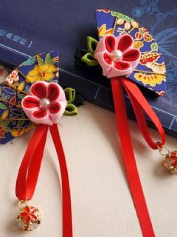 Fan Shape Hair Clip / Fan Shape Hair Clip Set (2 pcs)