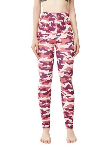 Fashion plus size camouflage sexy casual leggings