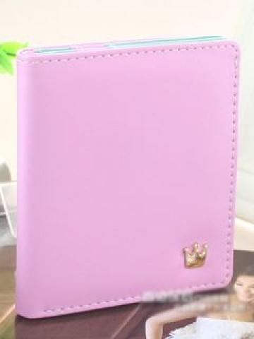 Faux-Leather Wallet