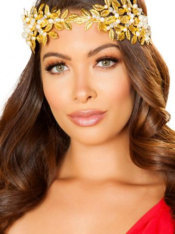 Goddess of Love Headband by Roma, Gold - Yandy.com