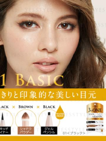 JOURMO  - 3 Way Liner & Shadow 01 Basic