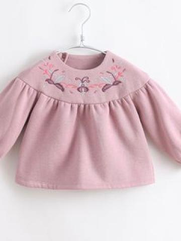 Kids Embroidered Pullover