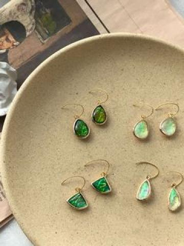 Resin Dangle Earring (various designs)