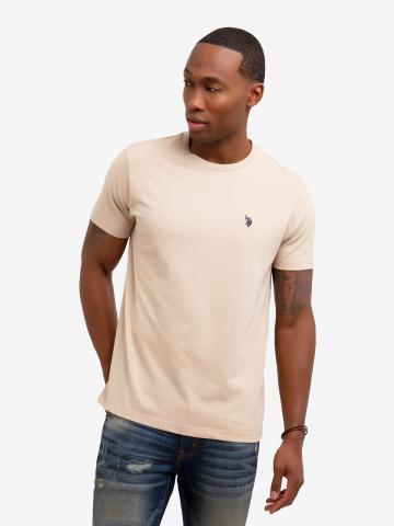 U.S. Polo Assn. - Mens Solid Crew Neck Tee Shirt - Size S