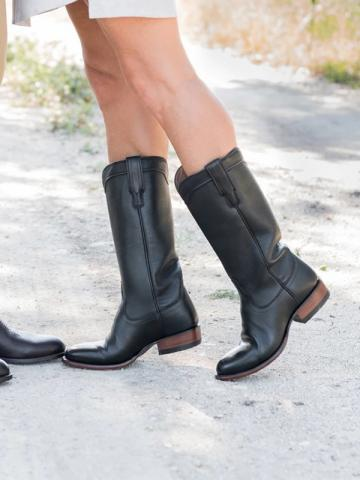 Women's Fashion Solid Color Boots